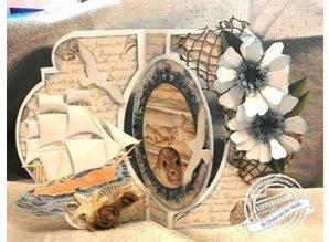 Dutch DooBaDoo A4 Template: Card Art Swing card
