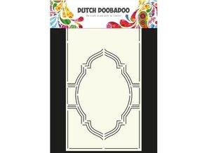 Dutch DooBaDoo A4 Skabelon: Card Art Swing kort No.4