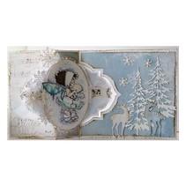 Plantilla A4: No.4 tarjeta de tarjeta de oscilación Arte