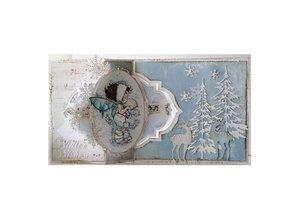 Dutch DooBaDoo A4 Schablone: Card Art Swing card Nr.4