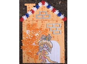 Dutch DooBaDoo A4 Template: Card Type Home 2-Piece
