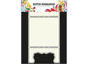Dutch DooBaDoo A4 Template: Card Art Card Window