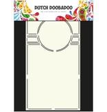 Dutch DooBaDoo A4 Schablone: Swing Card Art Circle