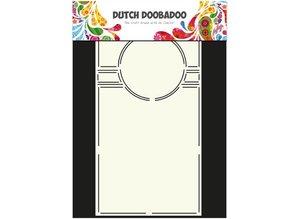 Dutch DooBaDoo A4 skabelon: SwingCard Art Circle