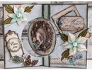 Dutch DooBaDoo A4 template: SwingCard Art Circle