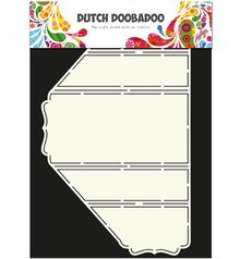Dutch DooBaDoo Template A4: Tipo di scheda Stand-Up