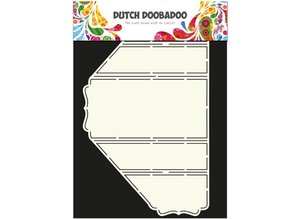 Dutch DooBaDoo A4 Template: Card Type Stand-Up