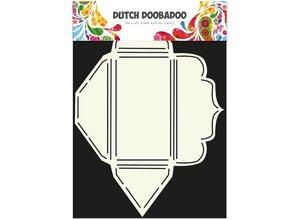Dutch DooBaDoo A4 skabelon: gøre kuverter