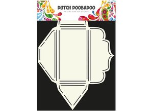 Dutch DooBaDoo A4 template: make envelopes