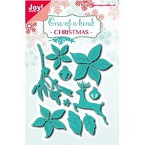 Punching and embossing templates: Christmas set
