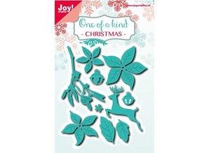 Joy!Crafts und JM Creation Stansning og prægning skabeloner: Julen sæt