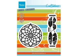 Marianne Design Punching and embossing template: Dreamcatcher