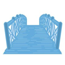 Troquelado y estampado en relieve plantilla: Puente
