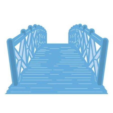 Marianne Design Stanz- und Prägeschablone: Brücke