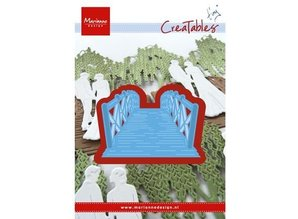 Marianne Design Punching and embossing template: Bridge