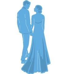 Marianne Design Punzonatura e goffratura modello: Newlyweds