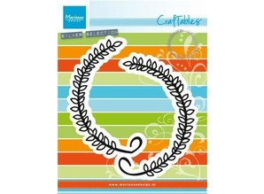 Marianne Design Punching and embossing template: Laurel