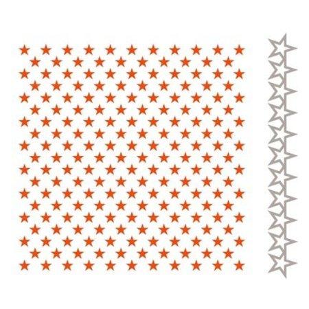 Marianne Design Plantilla Embossingsfolder + Stan: Estrellas