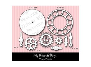 Die-namics Punching and embossing template: Timepieces