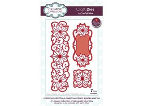 Creative Expressions NEW: punching and embossing template: Christmas Scene