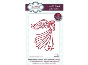 Creative Expressions NEW: punching and embossing template: Angel