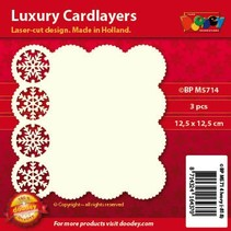 Luksus kort layouts, 3 stykker