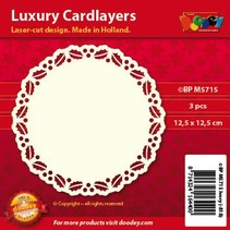 Luxus Karten Layouts, 3 Stück