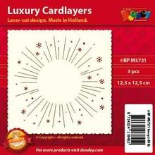 KARTEN und Zubehör / Cards Luksus kort layouts, 3 stykker
