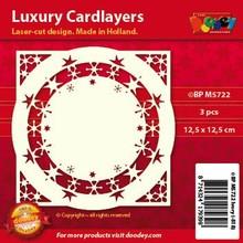 KARTEN und Zubehör / Cards layout di carta di lusso, 3 pezzi