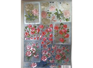 BILDER / PICTURES: Studio Light, Staf Wesenbeek, Willem Haenraets 3D Die cut sheets Metallic LOOK: Flowers