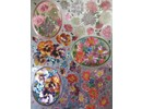 BILDER / PICTURES: Studio Light, Staf Wesenbeek, Willem Haenraets 3D Die cut sheets Metallic LOOK: Chryanthemen and violets