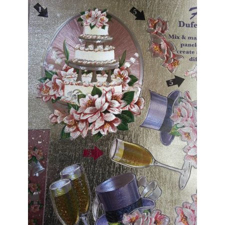 BILDER / PICTURES: Studio Light, Staf Wesenbeek, Willem Haenraets 3D Die cut sheets Metallic LOOK: Wedding