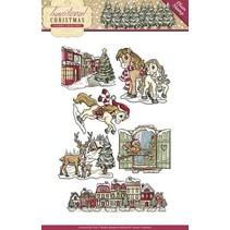 Nuovo francobollo trasparente: Natale