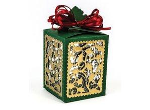 TONIC SET Tonic, stansning og prægning stencils, Box +4 Julen ramme!