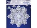 Joy!Crafts und JM Creation Punzonado y estampado en relieve plantillas: El invierno desea Doilie