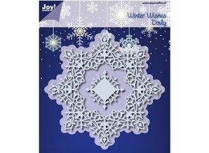 Joy!Crafts und JM Creation Punching and embossing templates: Winter Wishes Doilie