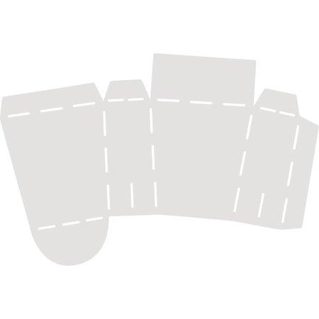 Dekoration Schachtel Gestalten / Boxe ... Schablone Täschchen, 23,5x17,5cm