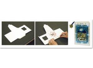 BASTELZUBEHÖR / CRAFT ACCESSORIES Led Lämpchen + 1 LED Karte, Format A6 + Umschlag
