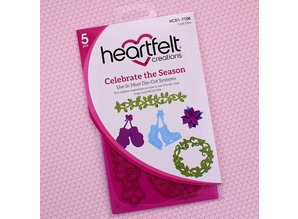 Heartfelt Creations aus USA Set: punching jig and stamp