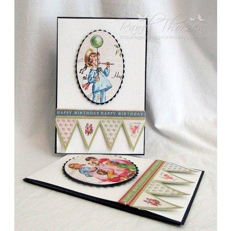 "DESIGNER BLÖCKE  / DESIGNER PAPER Designer Block, 30,5 x 30,5 cm, ""Birthday Party"""