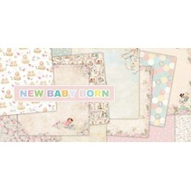 "Bloque diseñador, 30,5 x 30,5 cm, ""New Born Baby"""