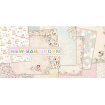 "Designer Block, 30,5 x 30,5 cm, ""New Born Baby"""