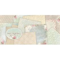 "Designer Block, 30,5 x 30,5 cm, ""Wedding Garden"""
