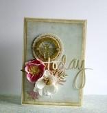 """DESIGNER BLÖCKE  / DESIGNER PAPER Designer Block, 30,5 x 30,5 cm, """"Wedding Garden"""""""