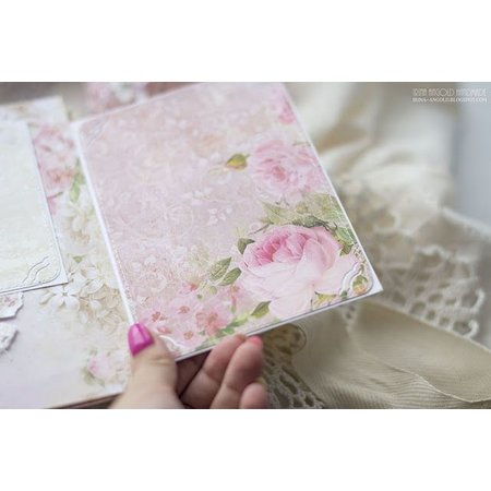 """Designer Papier Scrapbooking: 30,5 x 30,5 cm Papier Designere blok """"Vintage Time"""", 30,5 x 30,5 cm"""