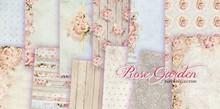 "DESIGNER BLÖCKE  / DESIGNER PAPER Designer Block, 30.5 x 30.5cm, ""Rose Garden"""