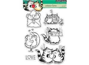 Penny Black Transparent stamp: Critter love