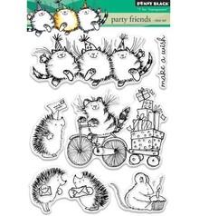 Penny Black sello transparente: los amigos del partido