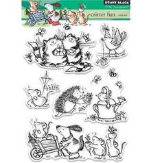 Penny Black sello transparente: Critter Diversión