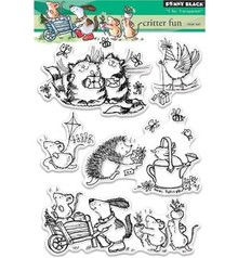 Penny Black Transparent stempel: Critter Fun